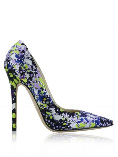 Sapato Jimmy Choo Romy Floral Strass