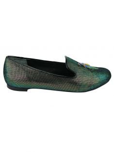 Sapato Tory Burch Tory Burch Cailyn Holographic Beetle
