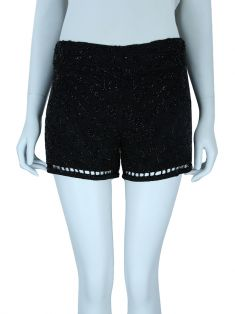 Shorts Bo.Bô Bordado Preto