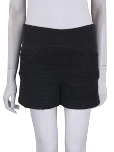 Shorts Le Lis Blanc Tweed Preto