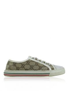 Tênis Gucci GG Canvas Low Top