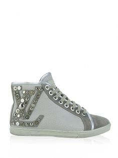 Tênis Louis Vuitton Studded Punchy Couro