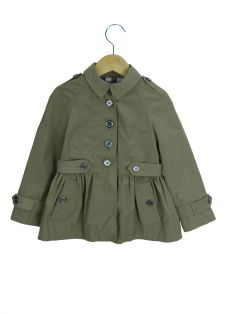Trench Coat Burberry Nylon Infantil