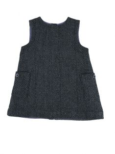 Vestido Burberry Children Grafite Infantil