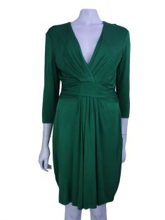 Vestido Issa London Seda Verde
