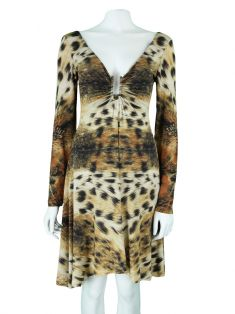 Vestido Just Cavalli Animal Print