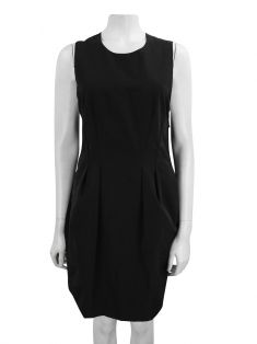 Vestido Lanvin Twisted Bow Preto