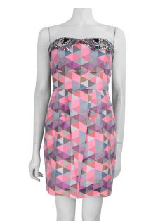 Vestido Matthew Williamson Mini  Rosa
