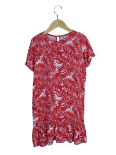 Vestido Mixed Viscose Estampado