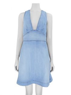 Vestido Stella McCartney Anne Denim Curto
