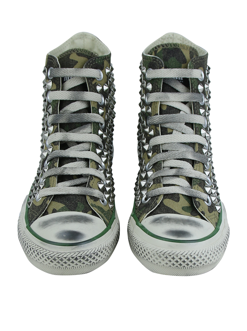 8ce5b2b0c4 Tênis Converse X Muffin All Star Chuck Tailor Camo-Steel 2.0 ...