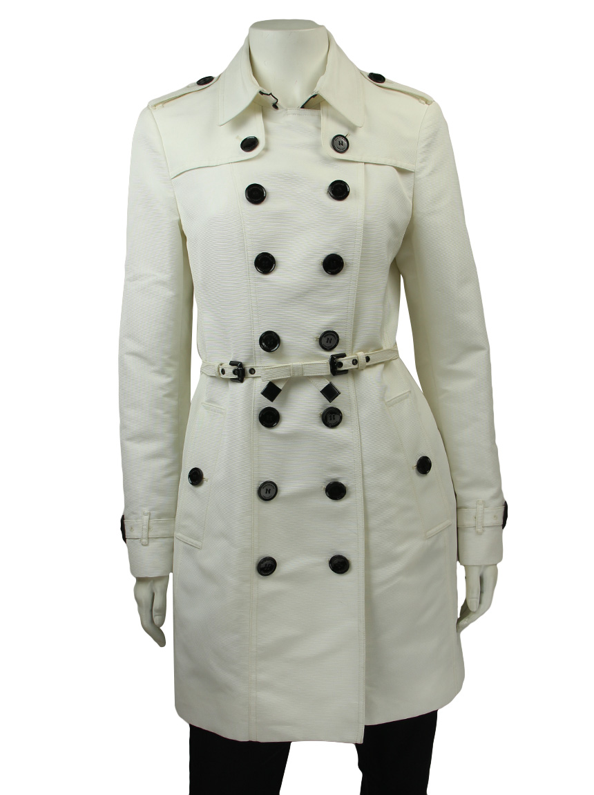 newest e4fd1 a0000 Trench Coat Burberry Off White
